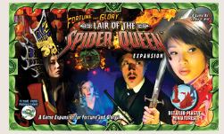 Fortune and Glory: Lair of the Spider Queen (Expansion)