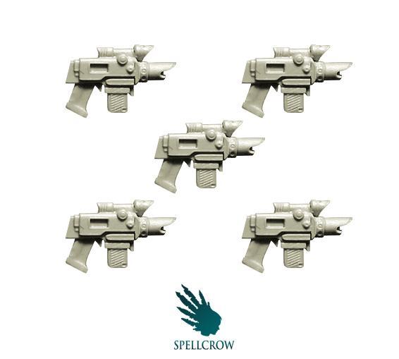 28mm Modern: Improved Laser Pistols