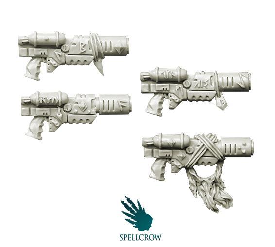 (Space Knights) Wolves Melting Guns