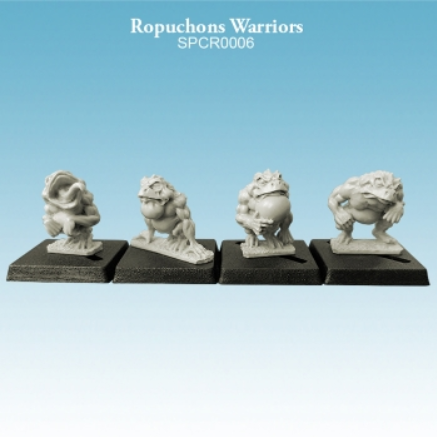 10mm scale Ropuchons - Warriors Pack