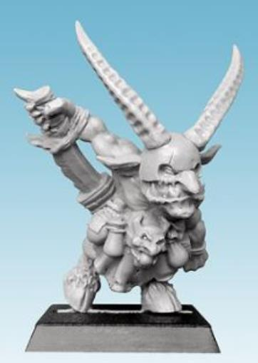 28mm Fantasy: Hobgoblin in Horned Helmet