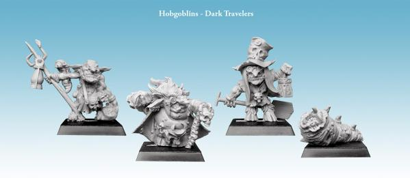 28mm Fantasy: Hobgoblins - Dark Travelers