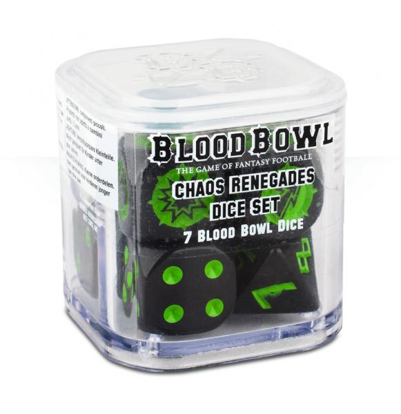 Blood Bowl: Chaos Renegades Dice