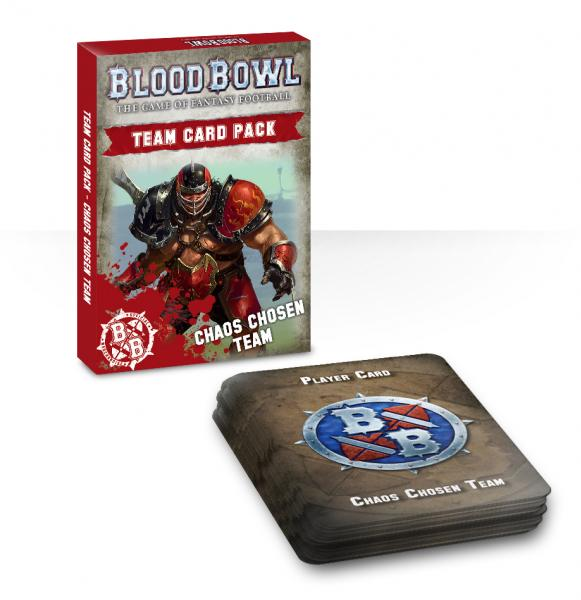 Blood Bowl: Chaos Chosen Team Card Pack