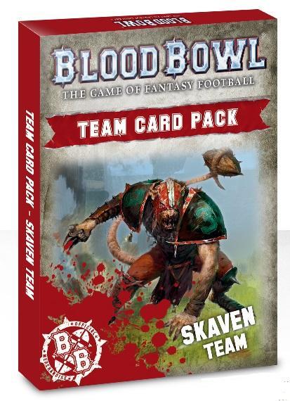 Blood Bowl: Skaven Team Card Pack
