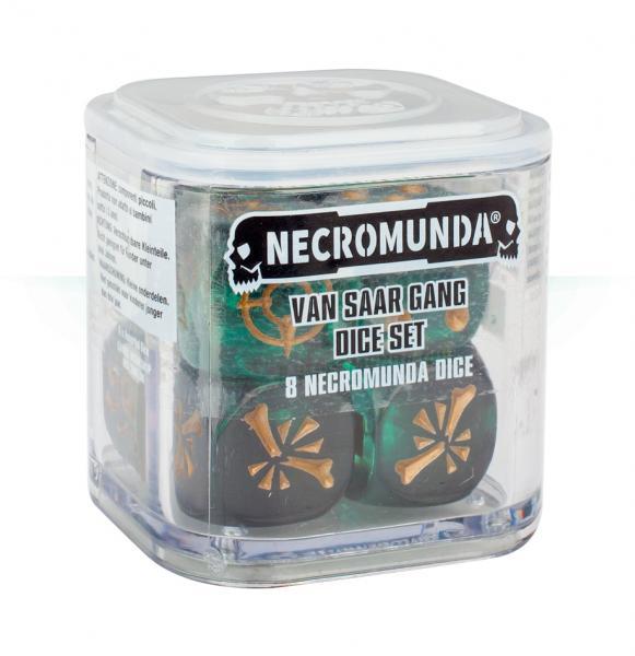 Necromunda: Van Saar Gang Dice Set