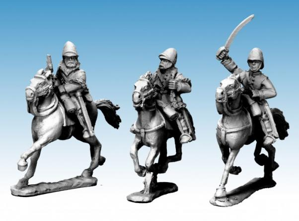 Artizan Designs: Mounted British Officers (3)