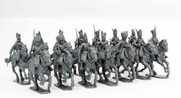 28mm Napoleonic: (French) French Napoleonic Line Chasseurs a Cheval 1808-1815