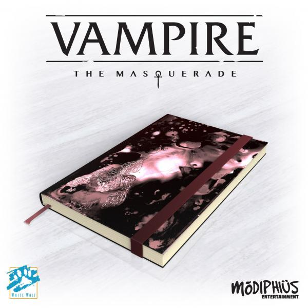 Vampire: The Masquerade 5th Ed. Official Notebook (Digest Notebook Supplement)