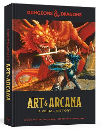 Dungeons and Dragons: Art and Arcana - A Visual History (HC)