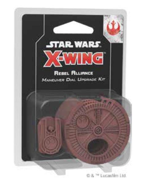 X-Wing 2.0: Rebel Maneuver Dial Upgrade Kit