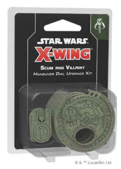X-Wing 2.0: Scum and Villainy Maneuver Dial Upgrade Kit