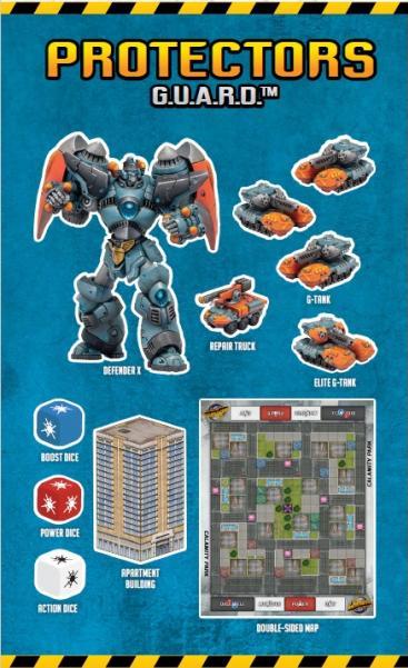 Monsterpocalypse (2018): Protectors G.U.A.R.D. Starter Pack