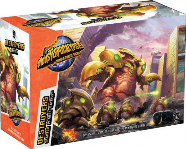 Monsterpocalypse: Destroyers Planet Eaters Starter Pack