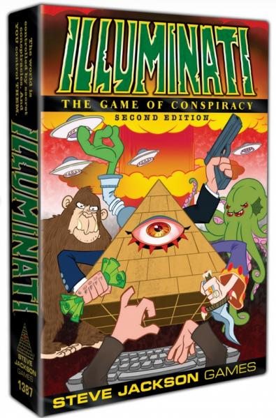 Illuminati: The Game of Conspiracy (2nd Edition)