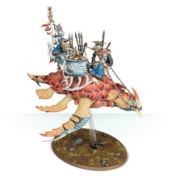 Age of Sigmar: Idoneth Deepkin - Akhelian Leviadon