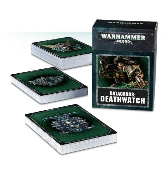 WARHAMMER 40K: Deathwatch Datacards (2018)