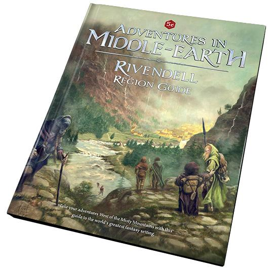 Dungeons & Dragons RPG: Adventures in Middle Earth Rivendell Region Guide