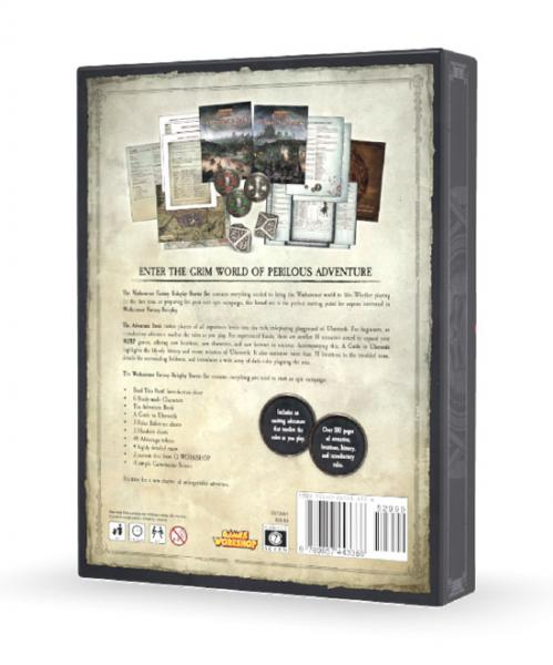 Warhammer Fantasy Roleplay 4th Edition Starter Set (WFRP)