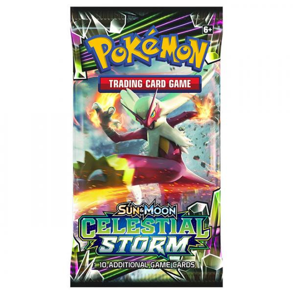 Pokemon CCG: Sun & Moon Celestial Storm Booster Pack (1)