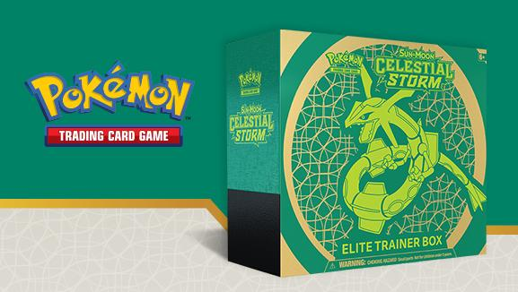 Pokemon CCG: Sun & Moon Celestial Storm Elite Trainer Box