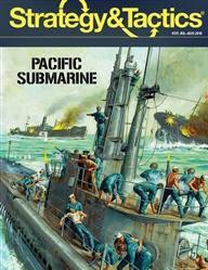 Strategy & Tactics Magazine: #311 Pacific Submarine