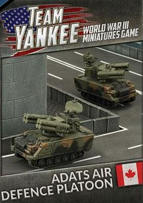 Flames Of War (Team Yankee): (Canada) ADATS Air Defence Platoon (x2)