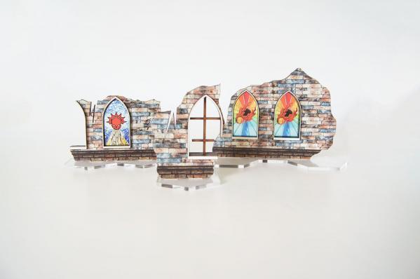 Miniature Terrain: Shadespire - Shade City Ruins #2