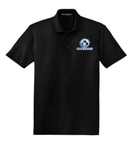 Game Kastle Employee Shirt (Black) (7XL)