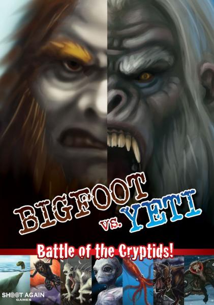 Bigfoot vs. Yeti