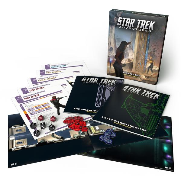 Star Trek Adventures RPG: Star Trek Adventures Starter Set