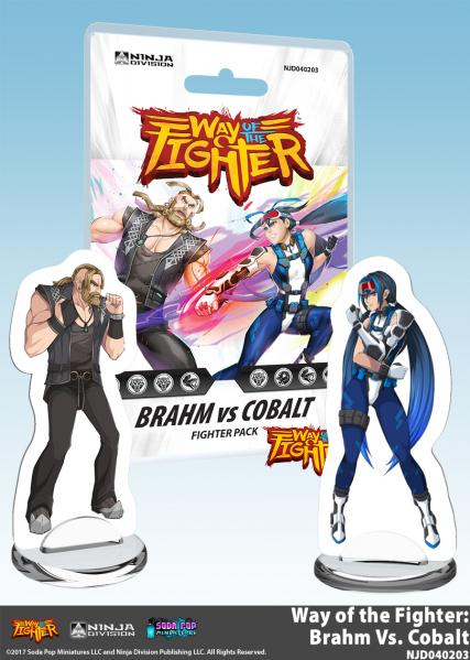 Way of the Fighter: Fighter Deck - Brahm vs Cobalt