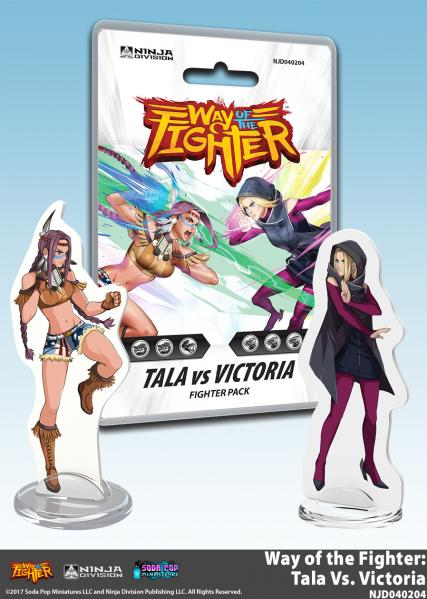 Way of the Fighter: Fighter Deck - Tala vs Victoria