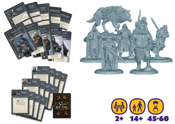 Song of Ice & Fire Miniatures Game: Stark Heroes #1