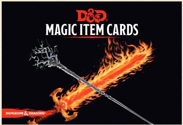 D&D 5th Edition RPG: Magic Item Cards Deck
