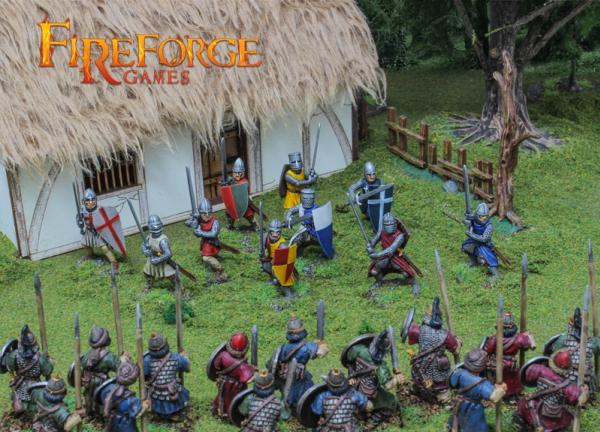 28mm Deus Vult: Foot Knights XI-XIIIC