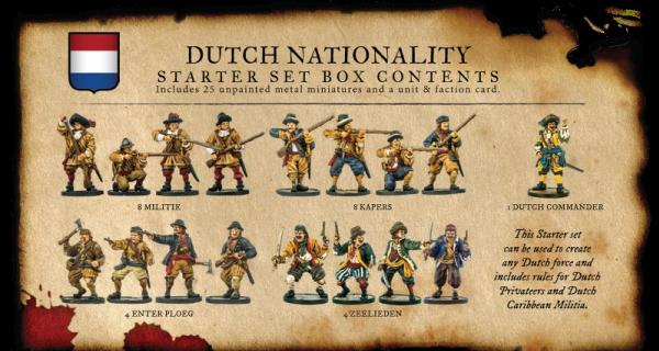Blood & Plunder: Dutch Nationality Set