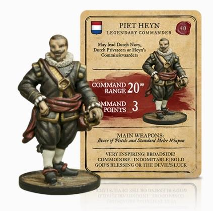 Blood & Plunder: (Dutch) Piet Heyn Legendary Commander
