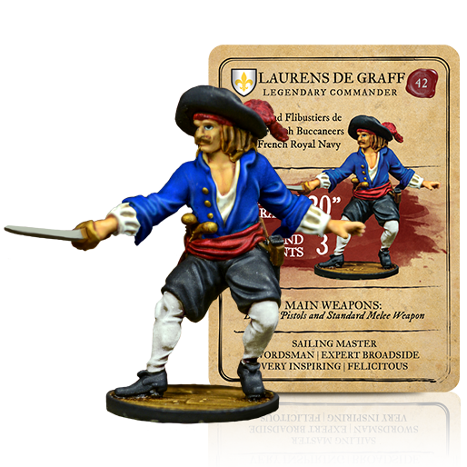 Blood & Plunder: (French) Laurens De Graff Legendary Commander