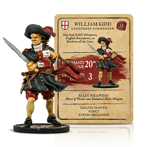 Blood & Plunder: (English) William Kidd Legendary Commander