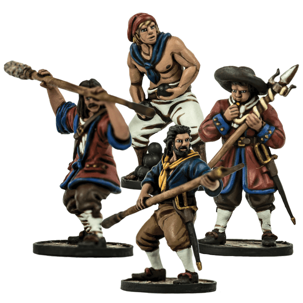 Blood & Plunder: (European) Cannon Crew