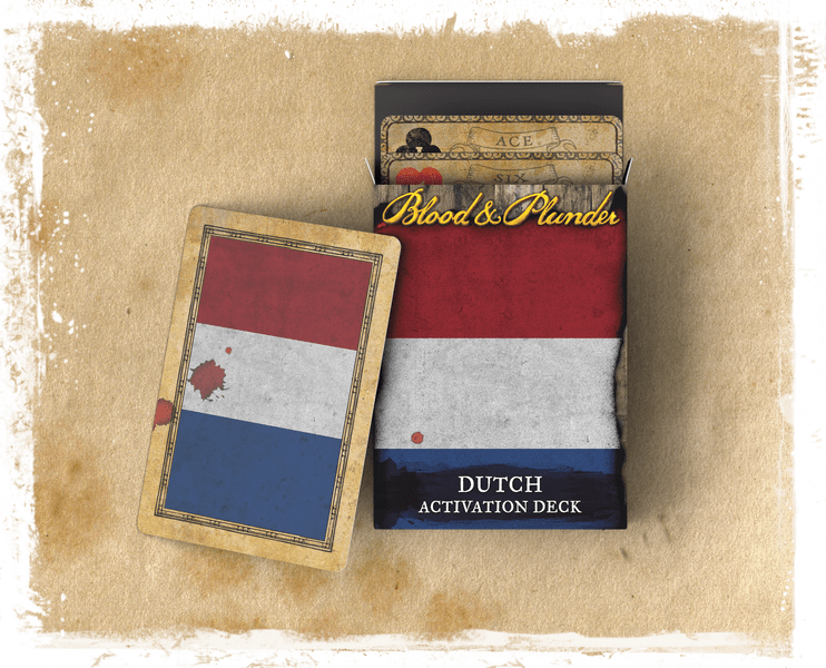 Blood & Plunder: (Dutch) Dutch Activation Deck