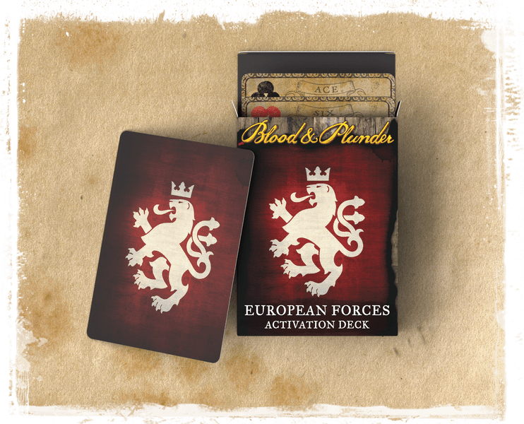 Blood & Plunder: (European) European Forces Activation Deck