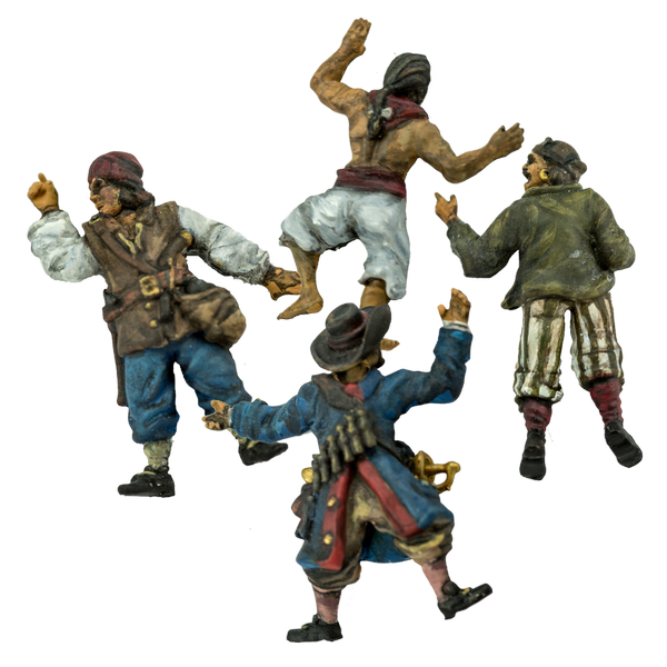 Blood & Plunder: (Accessory) Casualty Markers (4 figures)