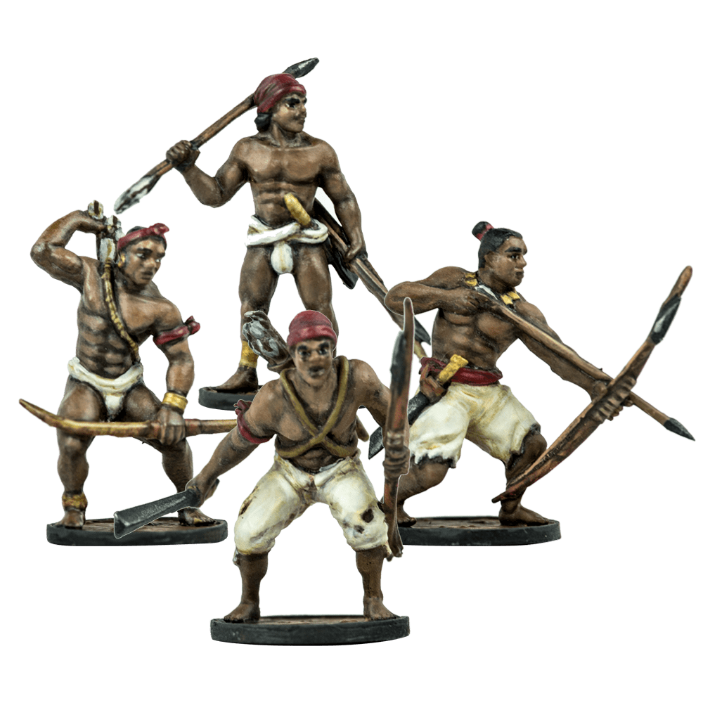 Blood & Plunder: (Native American) African Warriors Unit
