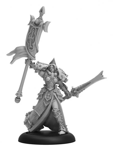 Warmachine: (The Protectorate Of Menoth) High Exemplar Cyrenia (1) (metal/resin)
