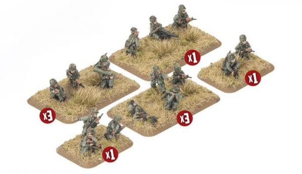 Flames of War: Team Yankee NATO - Mechanized Platoon (32)