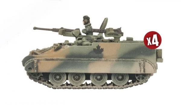 Flames of War: Team Yankee NATO - Lynx Reconnaissance Patrol (x2)