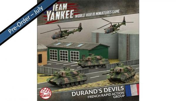 Flames Of War (Team Yankee): (French) Durand's Devils Plastic Army Deal