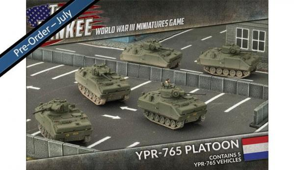 Flames Of War (Team Yankee): (Dutch) YPR-765 Platoon (5)